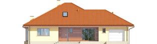 Projekt domu Flori III G1 (wersja B) Leca® DOM - elewacja frontowa