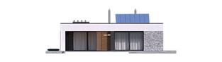 Projekt domu EX 21 G2 soft - elewacja tylna