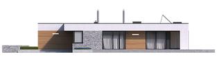Projekt domu EX 21 G2 soft - elewacja prawa