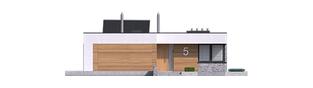 Projekt domu EX 21 G2 soft - elewacja frontowa