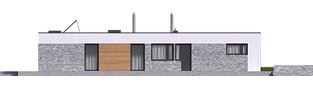 Projekt domu EX 21 G2 soft - elewacja lewa