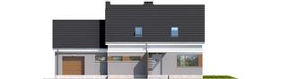 Projekt domu Ariel G1 ENERGO - elewacja frontowa