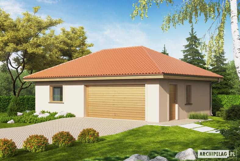 Projekt domu Garaż G38 -