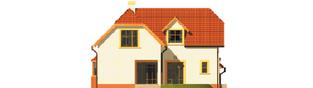 Projekt domu Marzena G1 - elewacja lewa
