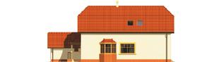 Projekt domu Marzena G1 - elewacja prawa