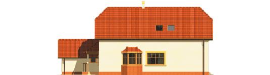 Marzena - Projekt domu Marzena G1 - elewacja prawa
