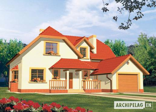 House plan - Marzena