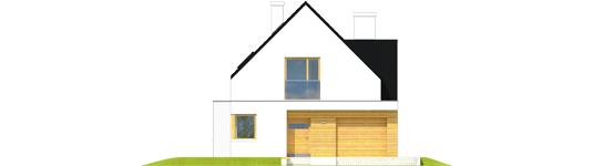 Bruno G1 A++ - Projekt domu Bruno G1 - Archipelag - elewacja frontowa