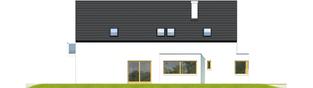 Projekt domu Bruno G1 - elewacja lewa
