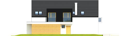 Bruno G1 A++ - Projekt domu Bruno G1 - Archipelag - elewacja prawa