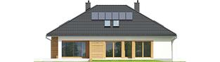 Projekt domu Marcel II G2 - elewacja tylna