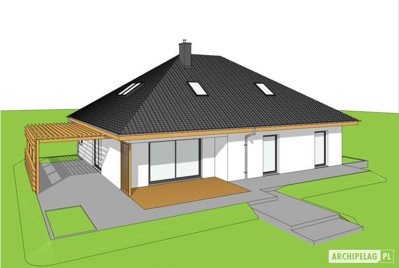 Projekt domu Astrid III G2 ENERGO PLUS - widok z góry