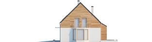 Projekt domu Apolonia G1 - elewacja prawa