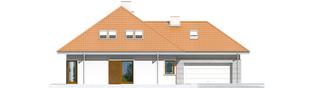 Projekt domu Morgan G2 - elewacja lewa