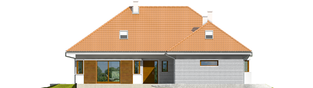 Projekt domu Morgan G2 - elewacja frontowa