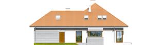 Projekt domu Morgan G2 - elewacja prawa