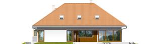 Projekt domu Morgan G2 - elewacja tylna