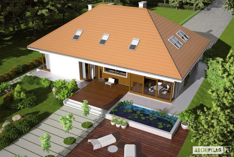 Projekt domu Morgan G2 - widok z góry
