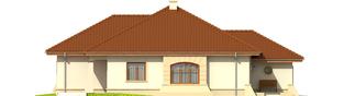 Projekt domu Kornelia IV G2 - elewacja lewa