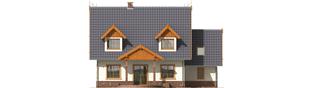Projekt domu Eulalia G1 - elewacja lewa