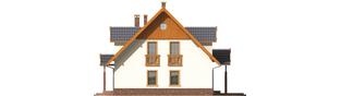 Projekt domu Eulalia G1 - elewacja prawa