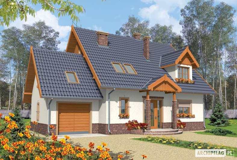 Projekt domu Eulalia G1 -