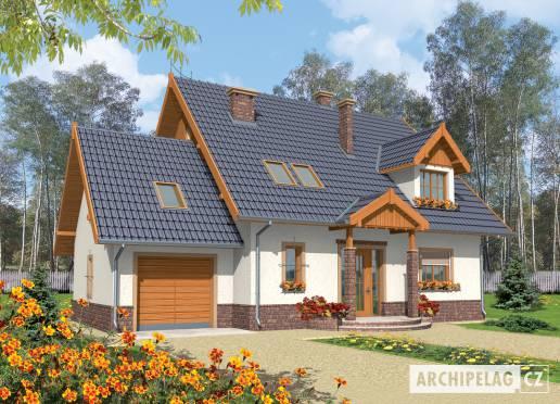 Projekt rodinného domu - Eulalie