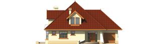 Projekt domu Pola G1 - elewacja frontowa