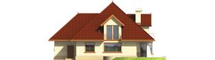 Projekt domu Pola G1 - elewacja tylna