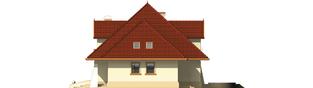 Projekt domu Pola G1 - elewacja prawa