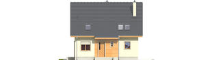 Projekt domu Adriana III (wersja A) - elewacja frontowa