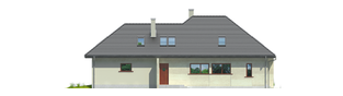 Projekt domu Teo G2 - elewacja prawa