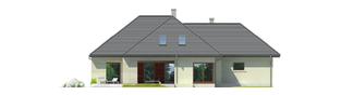 Projekt domu Teo G2 - elewacja lewa