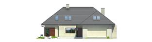 Projekt domu Teo G2 - elewacja frontowa