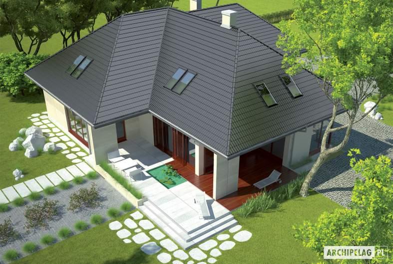 Projekt domu Teo G2 - widok z góry