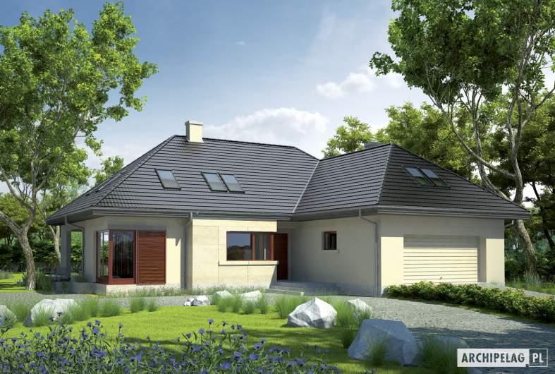 Projekt domu Teo G2 - wizualizacja frontowa
