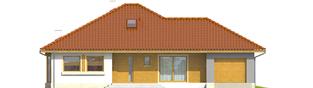 Projekt domu Flori III G1 - elewacja frontowa