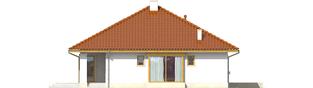 Projekt domu Flori III G1 - elewacja lewa