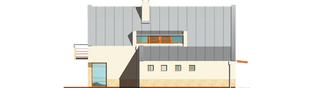 Projekt domu Larysa G1 - elewacja lewa