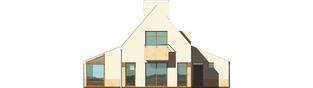 Projekt domu Larysa G1 - elewacja tylna