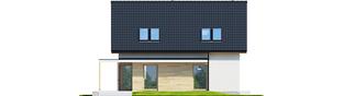 Projekt domu Lila ECONOMIC - elewacja tylna