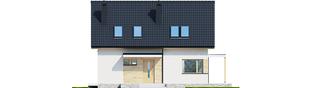 Projekt domu Lila ECONOMIC - elewacja frontowa