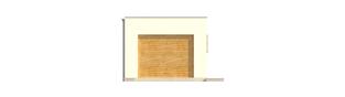 Projekt domu Garaż G23 - elewacja frontowa