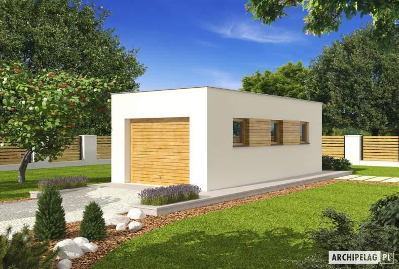 Projekt domu Garaż G23 - Projekt garażu G23 - wizualizacja frontowa