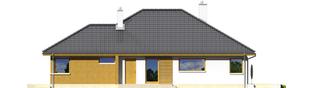 Projekt domu Glen - elewacja prawa