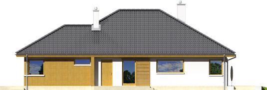 Glenas A++ - Projekty domów ARCHIPELAG - Glen - elewacja prawa