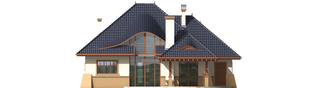 Projekt domu Klarysa G2 - elewacja tylna