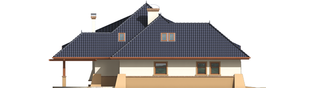 Projekt domu Klarysa G2 - elewacja lewa