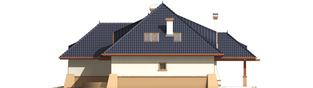 Projekt domu Klarysa G2 - elewacja prawa