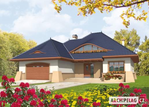 Projekt rodinného domu - Klarisa